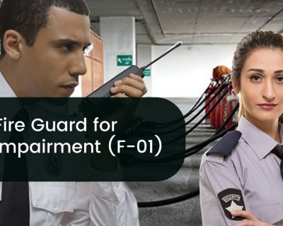 Fire Guard for Impairment (F-01) Test Prep Class