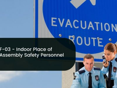 F-03 Indoor Place of Assembly Safety Personnel